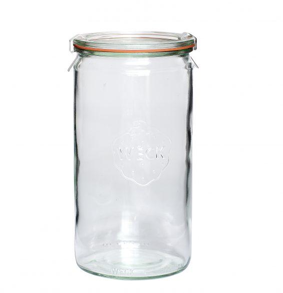 Konserveringsburk glas, Weck, 10x21_185007