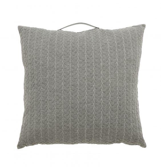 Kudde m handtag, grå, 60x60_130216